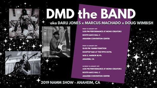 DMD the Band at 2019 NAMM Show - MONO Creators Booth 6602 Hall C