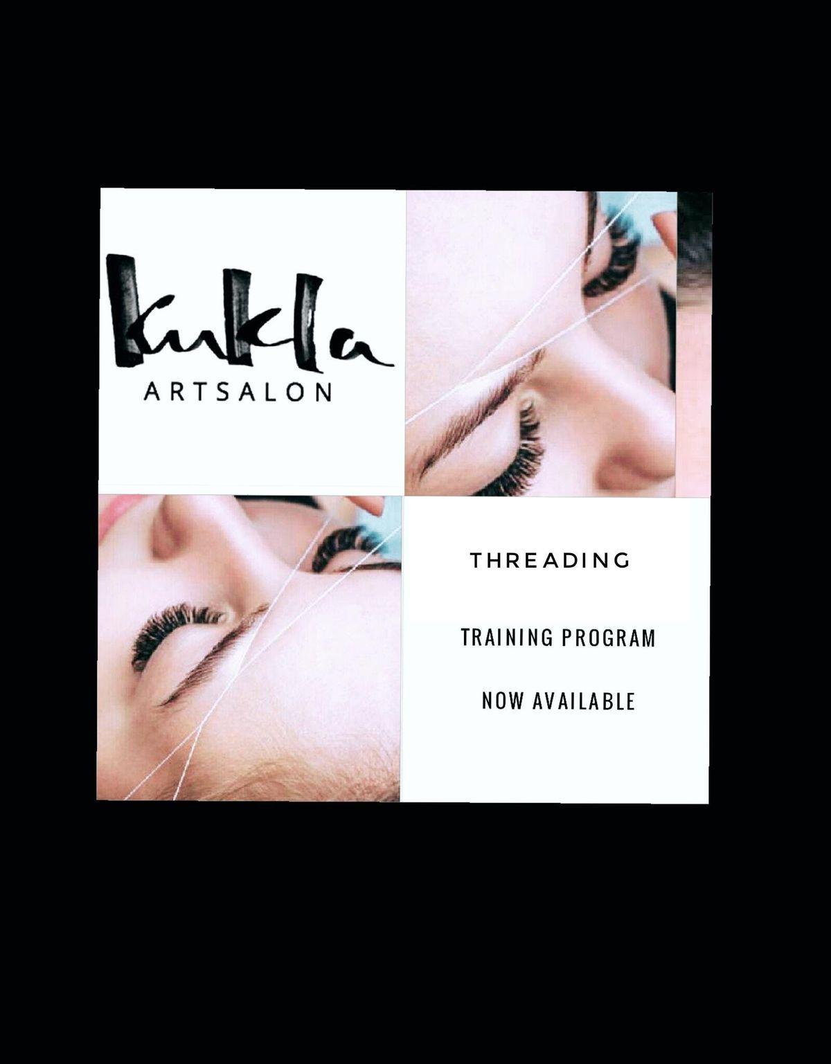Eyebrows Threading And Full Face Training At Kukla Artsalon Miami Beach