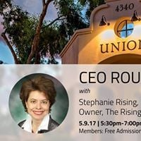 CEO Roundtable with Stephanie Rising