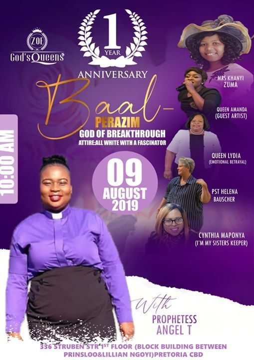 Baal- Perazim God Of Breakthough Women Conference at 336