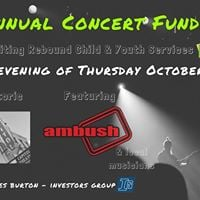 2nd Annual Concert Fundraiser for Rebound Child &amp Youth Services