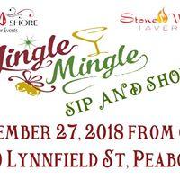 Jingle Mingle Holiday Sip and Shop