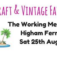 August Craft &amp Vintage Fair