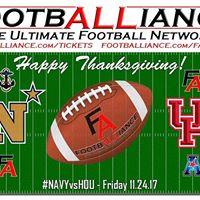 College Football  Navy at Houston NAVYvsHOU