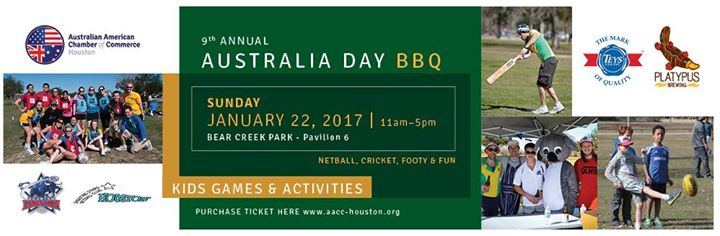 9th Annual Australia Day BBQ