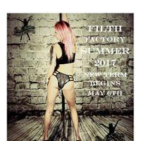Filth Factory Stripper Style Pole School