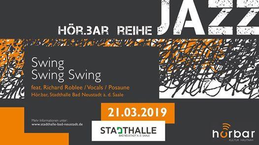 Hor Bar Jazz Swing Swing Swing At Stadthalle Bad