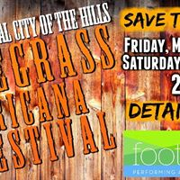 The 3rd Annual City of the Hills Bluegrass Americana Festival