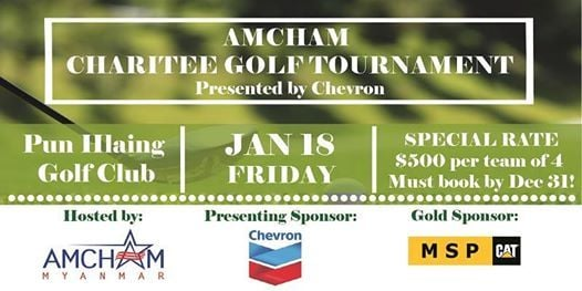 AMCHAM ChariTee Golf Tournament at Pun Hlaing Golf ClubPun