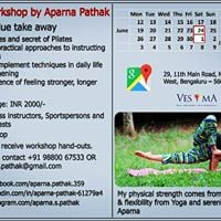 Pilates Workshop by Aparna Pathak