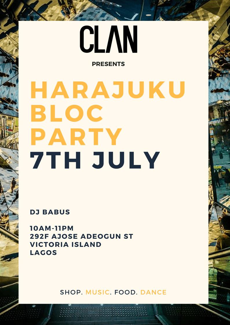 harajuku bloc party