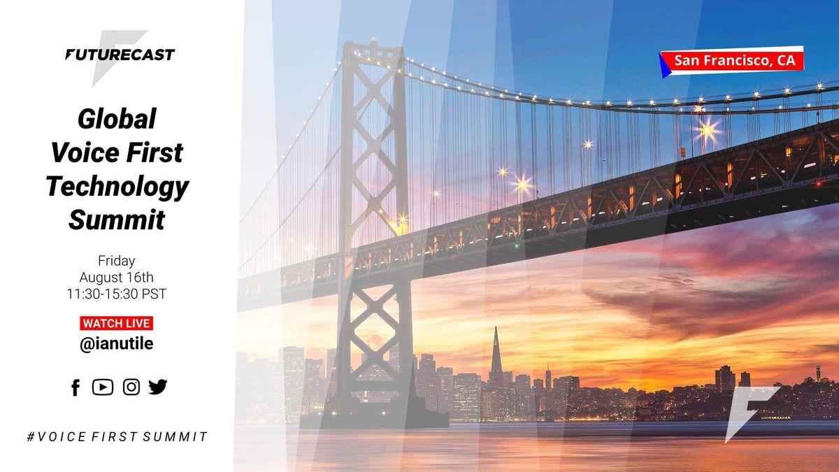 Global Voice First Summit Alexa Assistant Bixby Cortana Houndify Siri