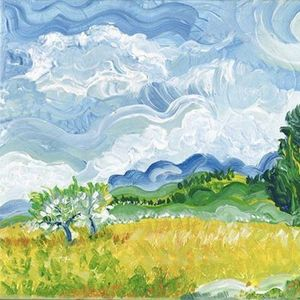 ArtNight ArtNight Pro Paint like Van Gogh - Blumenwiese am 28