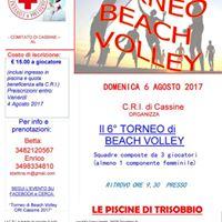 Torneo di Beach volley CRI Cassine 2017