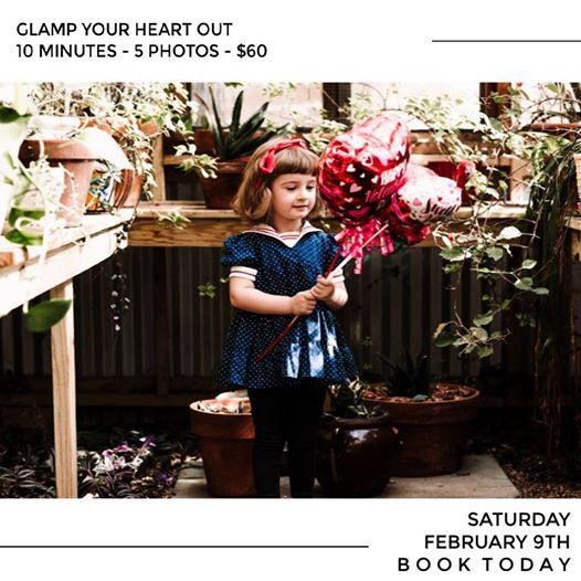 GLAMP YOUR HEART OUT Valentine