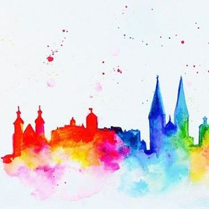 ArtNight Regensburg Skyline am 25042019 in Regensburg