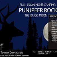 Full Moon Night Camping at Punjpeer Rocks
