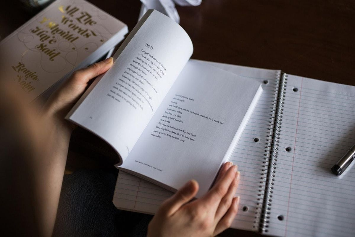 Pen to Print Poetry Classes with Anna Robinson