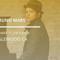 Bruno Mars in Inglewood