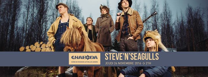 steve n seagulls at le chabada angers club et salle de concerts angers. Black Bedroom Furniture Sets. Home Design Ideas