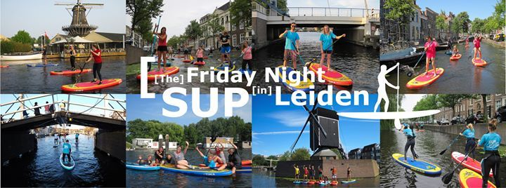 The Friday Night SUP Leiden 24 mei 2019