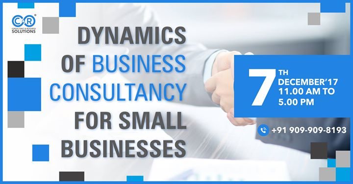 Dynamics Of Business Consultancy For Small Business