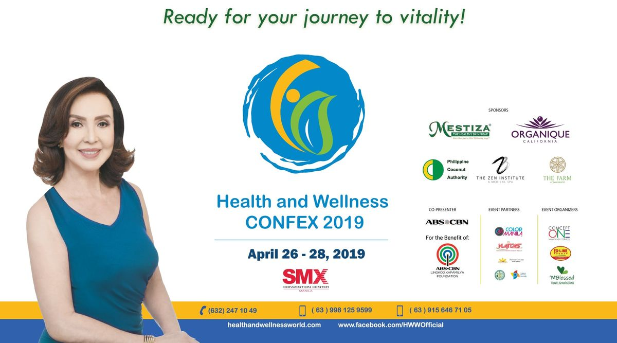 HEALTH AND WELLNESS CONFEX 2019