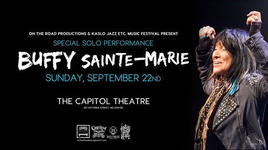 Buffy Sainte-Marie w guests  Nelson BC