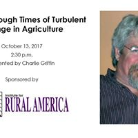 Working through Turbulent Times in Agriculture