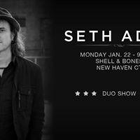 Seth Adam - New Haven CT - Shell &amp Bones