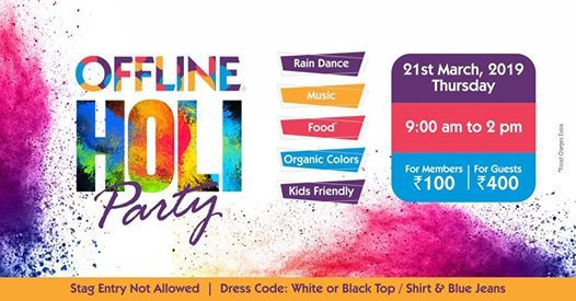 Offlines Holi Party