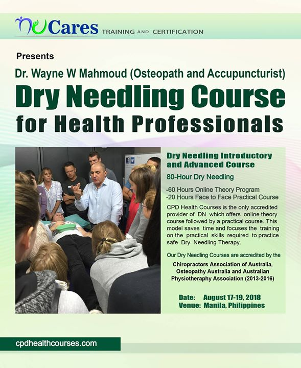 Dry Needling Basic and Advanced Course at UP Diliman, Quezon City