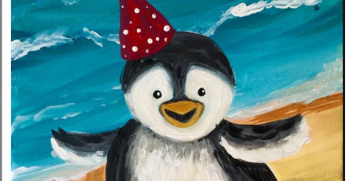 Summer Art Camp- Penguins in Tuxedos Week