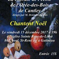 Concert de Nol du Choeur du Village