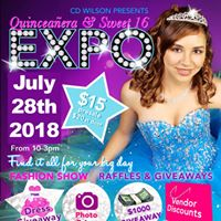 Quinceanera &amp Sweet 16 Expo