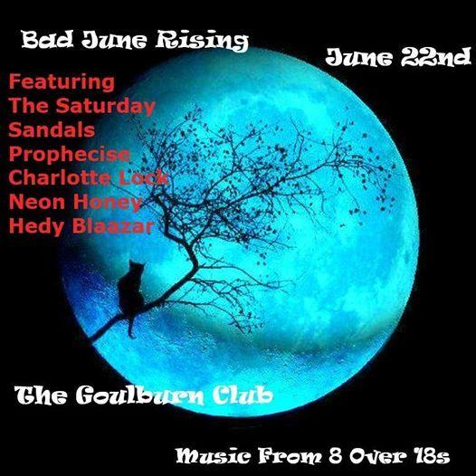 Bad June Rising at Goulburn Club, Queanbeyan