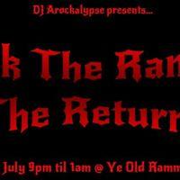 Rock The Ramme - The Return Mansfields Biggest RockMetal Night