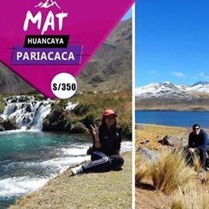 Trekking al Apu Pariacaca  Huancaya y Vilca - 2 Das