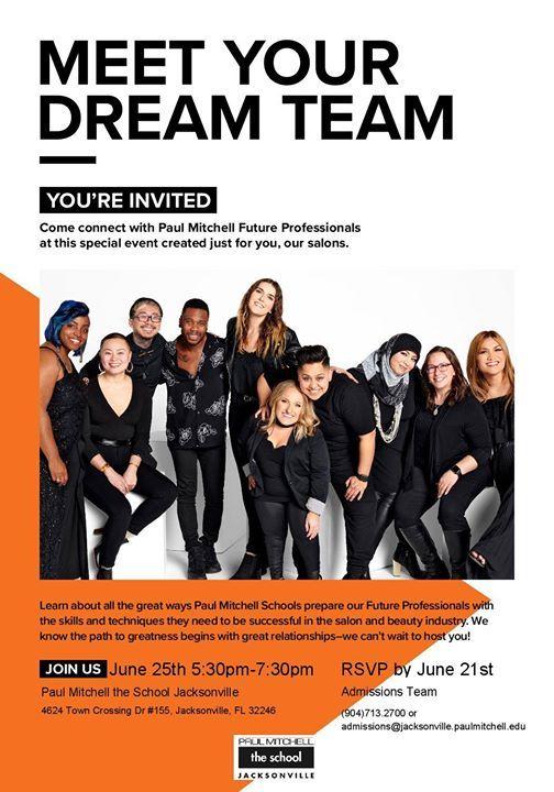 Meet Your Dream Team at Paul Mitchell School - Jacksonville