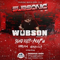 Subsonic Vol. 3 ft. Wubson  MORE