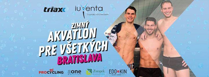 Zimn Akvatlon pre vetkch Bratislava