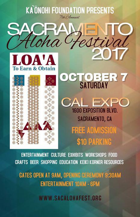 Sacramento Aloha Festival at Cal Expo Fairgrounds, Sacramento