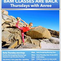 Thursdays at 8am - with Anree