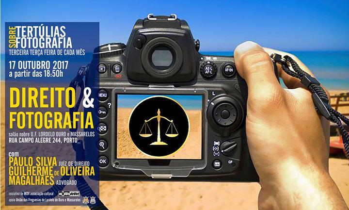 Tertlia sobre Direito e Fotografia