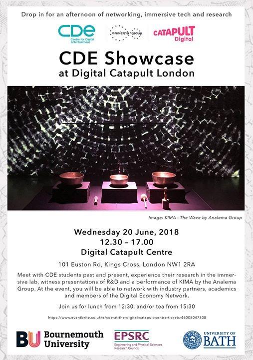 KIMA at Digital Catapult London CDE Showcase