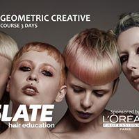 3 day Geometric Creative Cutting at LOreal Cyprus
