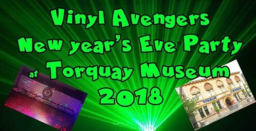Vinyl Avengers New YEARS EVE party 2018