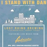 I Stand With Dan Benefit feat. live music from Wild Adriatic