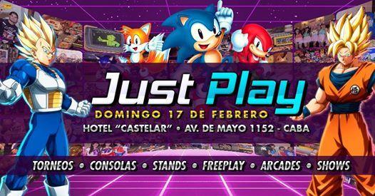 Just Play - Retro Summer  Evento Gaming