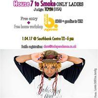B.Supreme 7 to smoke all female housedance Southbank
